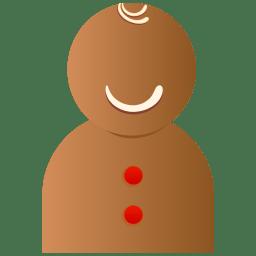 Xmas doll icon