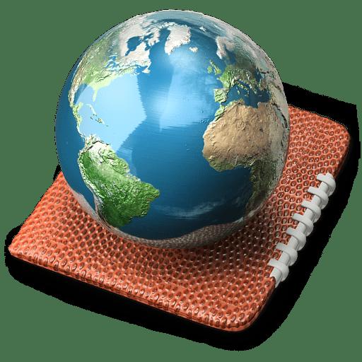 My world Icon | Touchdown 3D Iconset | D. Arnaez
