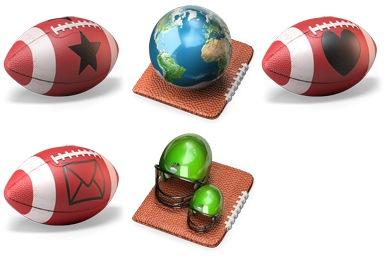 Touchdown 3D Icons