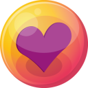 heart purple 4 icon