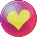 heart yellow 6 icon
