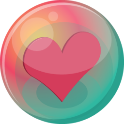 Heart pink 2 icon