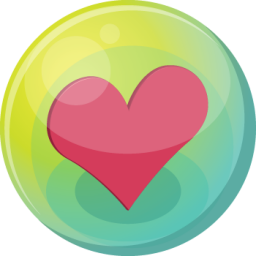 heart pink 5 icon