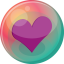 heart purple 2 icon