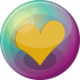 Heart-orange-3 icon