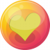 Heart-yellow-4 icon