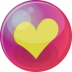 Heart-yellow-6 icon