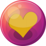 Heart-orange-1 icon