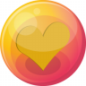 Heart-orange-4 icon