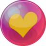 Heart-orange-6 icon