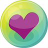 Heart-purple-5 icon