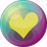 Heart-yellow-3 icon