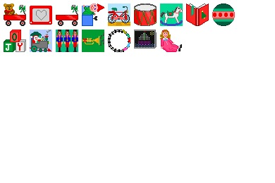 Christmas Toys Icons