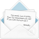 mail open envelope 2 icon
