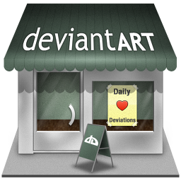deviantart shop icon