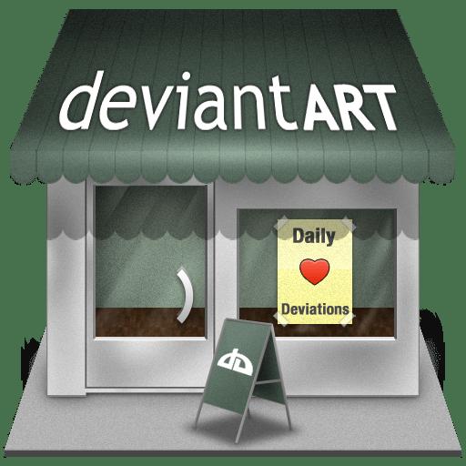 Deviantart shop icon