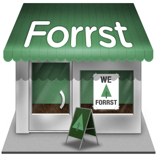 Forrst shop icon