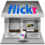 flickr shop icon