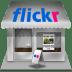 Flickr-shop icon