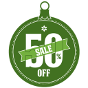 Sale 50 percent off icon