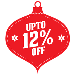 Upto 12 percent off icon