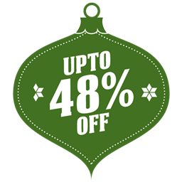 Upto 48 percent off icon