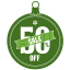 Sale-50-percent-off icon