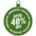 Upto-40-percent-off icon