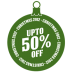 Upto-50-percent-off icon