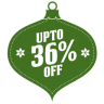 Upto-36-percent-off icon
