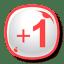 Google Plus One icon