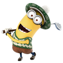 Minion Playing Golf icon