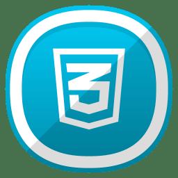 HTML 3 icon
