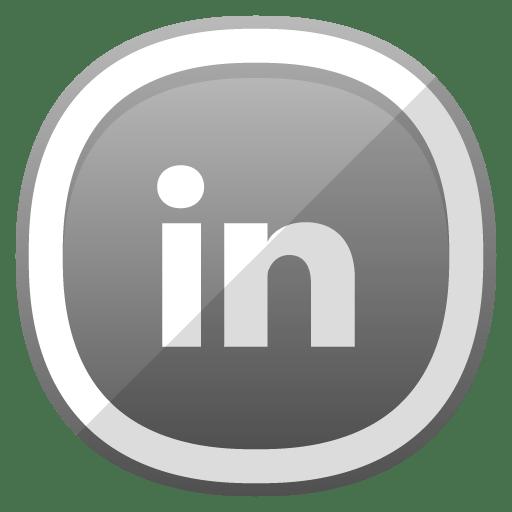 Linkedin Icon Free Cute Shaded Social Iconset Designbolts