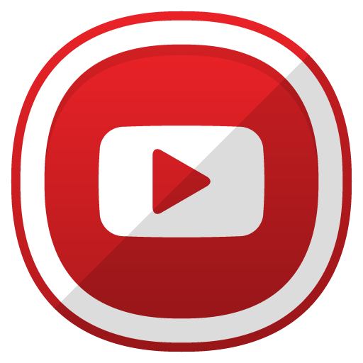 Youtube Icon | Free Cute Shaded Social Iconset | DesignBolts
