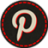 Hover Pinterest icon