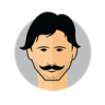 Male-Avatar-Mustache icon