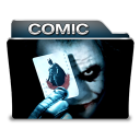 http://icons.iconarchive.com/icons/designbolts/free-movie-folder/128/Comic-icon.png