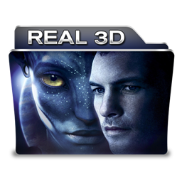 Real 3d icon free movie folder iconset designbolts for 3d film archive