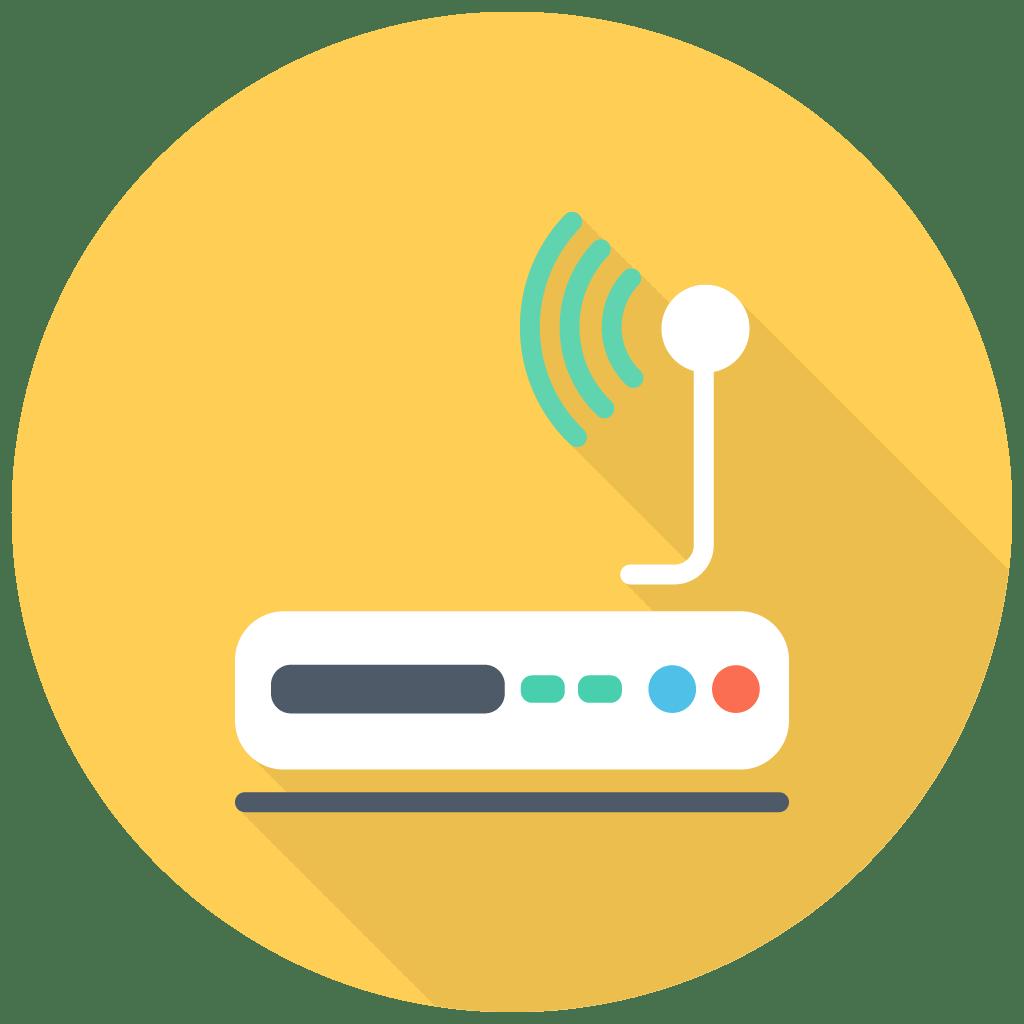 Modem Icon | Free Flat Multimedia Iconset | DesignBolts
