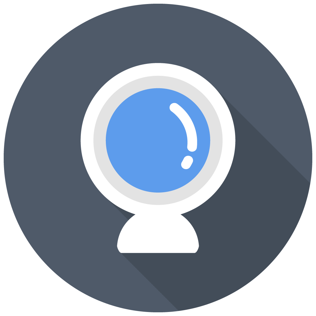 Webcam Icon | Free Flat Multimedia Iconset | DesignBolts