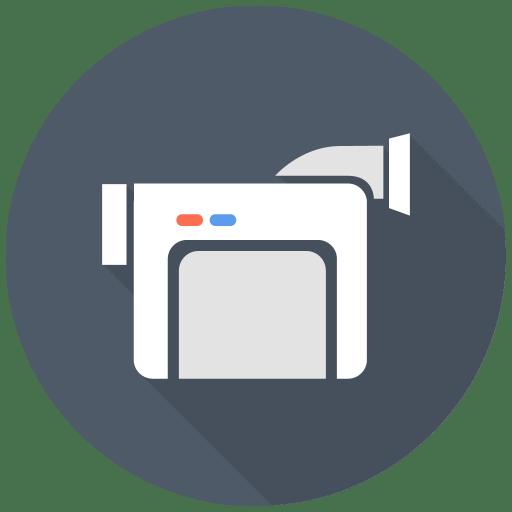 Video Camera Icon | Free Flat Multimedia Iconset | DesignBolts