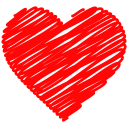Heart Doodle icon
