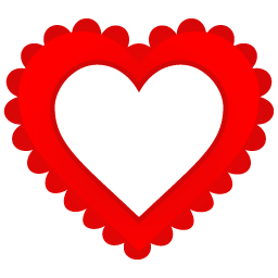 Heart Border icon