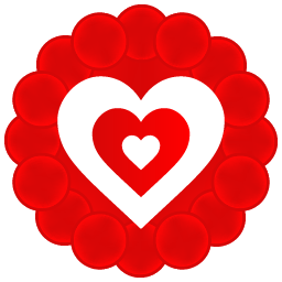Heart Pattern icon