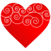 Heart-Round-Pattern icon