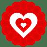 Heart-Pattern icon