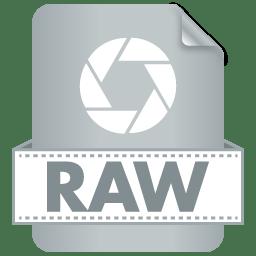 Filetype RAW icon