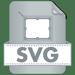 Filetype SVG icon