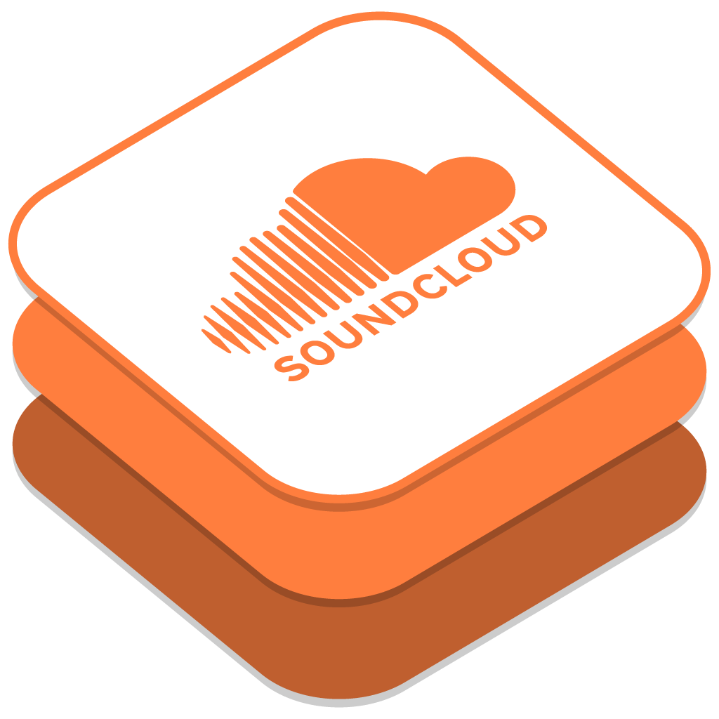 Soundcloud Icon | iOS8 Style Social Iconset | DesignBolts